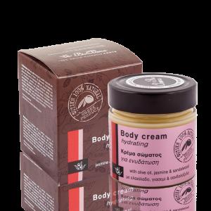 natuurlijke hydraterende lichaamscrème