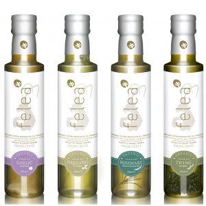 biologische extra vergine olijfolie met kruiden